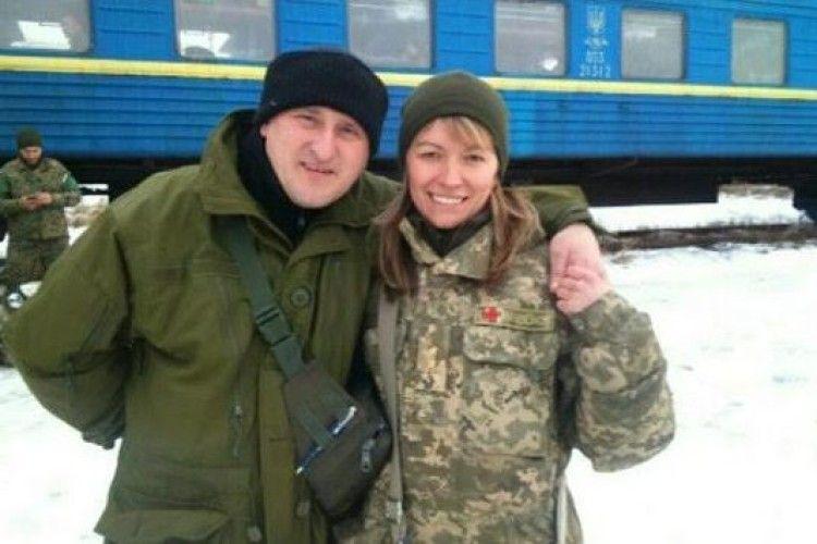 На Любешівщині учні зустрілися з батьками свого однокласника — учасниками АТО