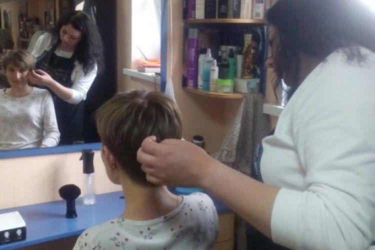 У Ковелі влаштували «День краси» для рідних учасників АТО(фото)