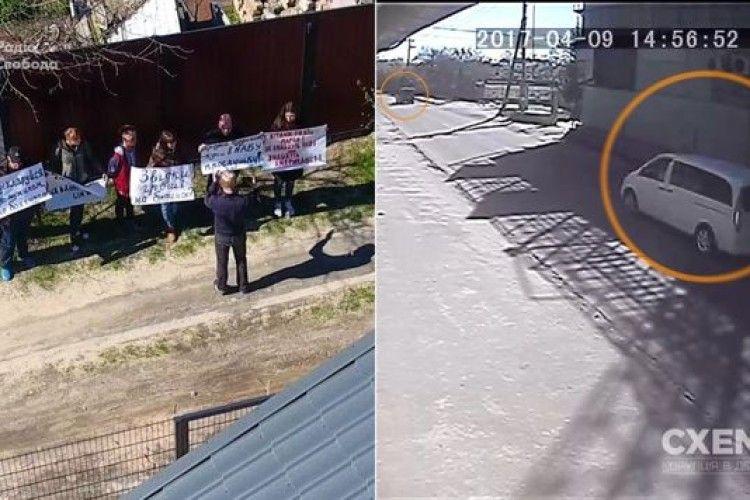 Журналісти оприлюднили докази участі СБУ в замовній акції під будинком Шабуніна