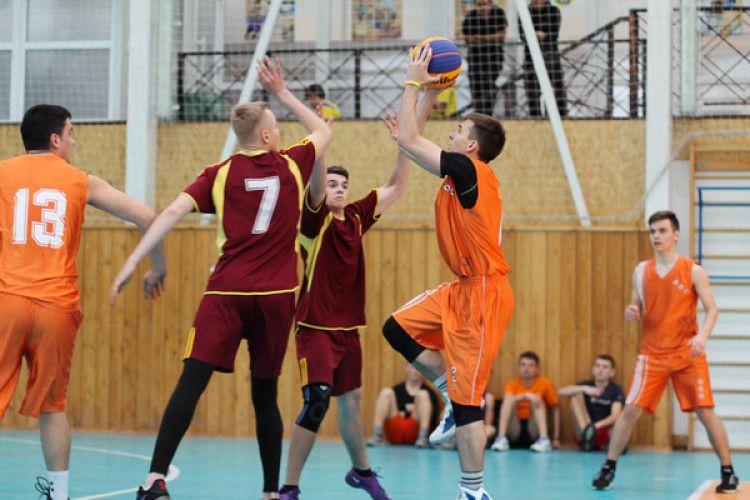 На Волині завершено сезон Шкільної баскетбольної ліги