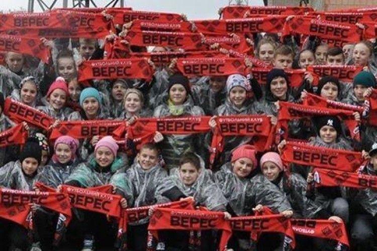 Перед матчем рівненського «Вереса» у Вараші глядачам пообіцяли яскраву церемонію відкриття (фото)