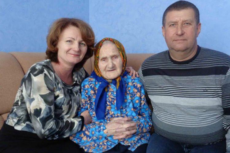 У 101 рік волинянка Лідія Гаврилюк ще цікавиться, що написала преса