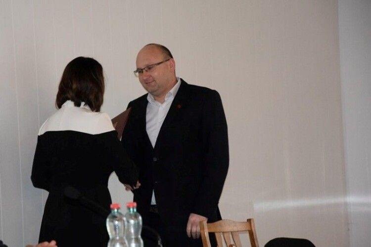 Очільник громади з Волині отримав Подяку від народного депутата України