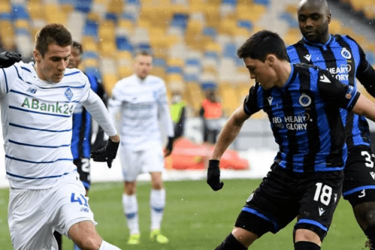 Київське «Динамо» зіграло внічию з бельгійським «Брюгге»