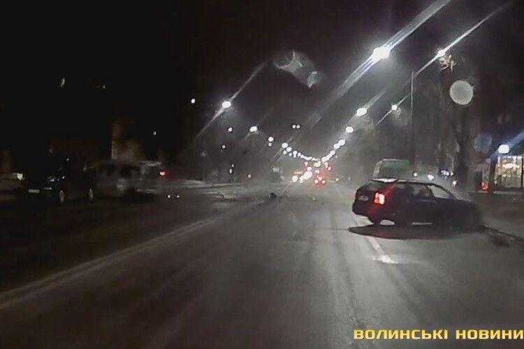 П'яний винуватець потрійної ДТП на Відродженні – учасник Луцької Федерації Автоспорту. Оновлено (Фото, відео)