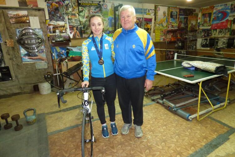 У Луцьку велотрека — нема,  а бронзова медалістка Чемпіонату Європи — є!