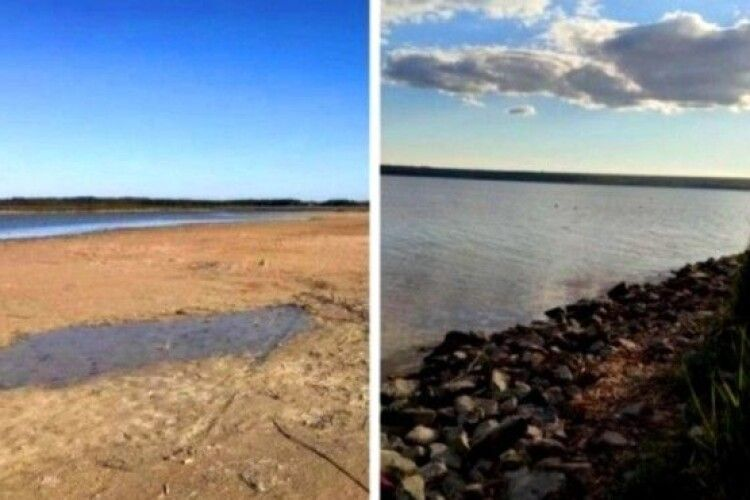 Найбільше озеро України зникає через посуху