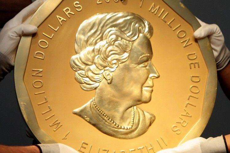 З музею в Берліні поцупили 100-кілограмову монету з чистого золота (фото)