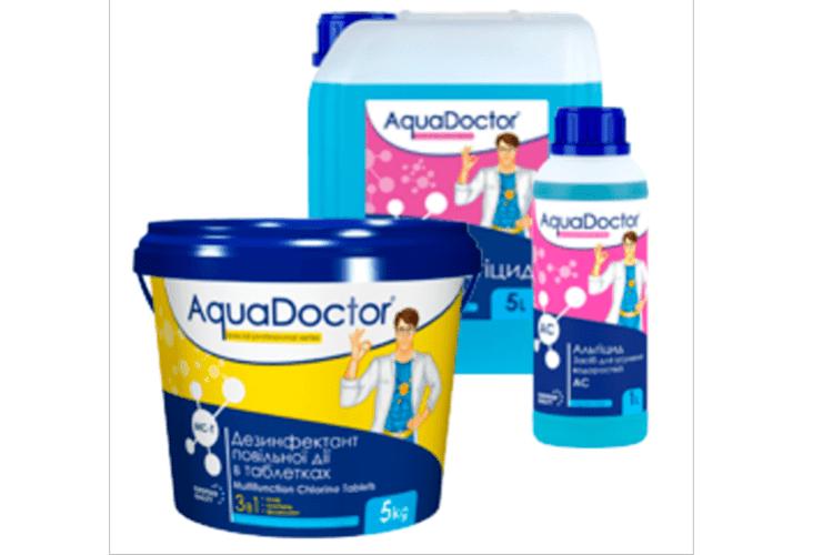 AquaDoctor – перевірений бренд для захисту і чищення басейну