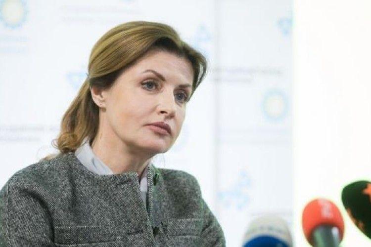 У Марини Порошенко не знайшли родзинки