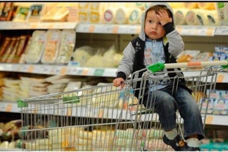 Інфляція прискорилась: з початку року ціни на Волині зросли на 4%