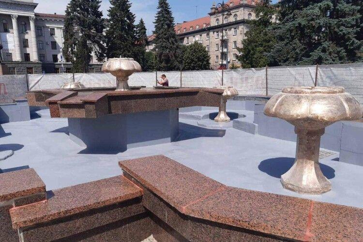 У Луцьку на вихідних запустять ще один фонтан (Фото)