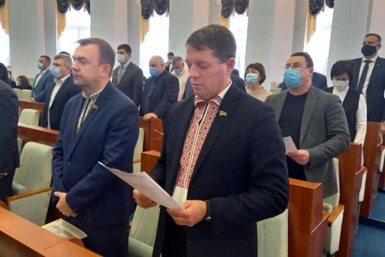 Колишній політв'язень Кремля Роман Сущенко став першим заступником голови Черкаської обласної ради