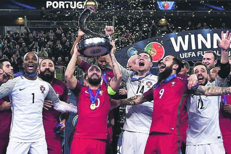 Тепер не тільки у європейському футболі, а й у футзалі править Португалія!
