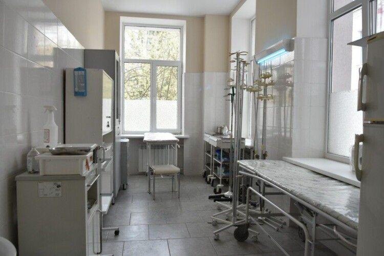 У Волинській інфекційній лікарні за два тижні вдвічі побільшало хворих