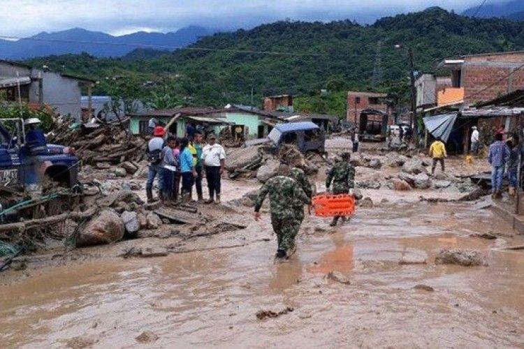 Понад 110 людей загинуло в Колумбії через сель