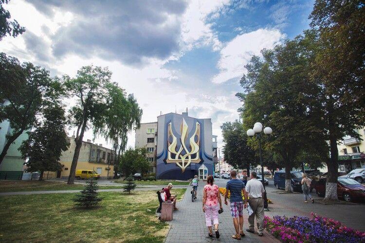 Луцький художник розповів, як хоче відновити мурал на проспекті Волі