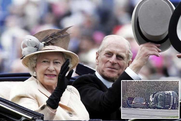 97–річний принц Філіп закермом Land Rover потрапив ваварію