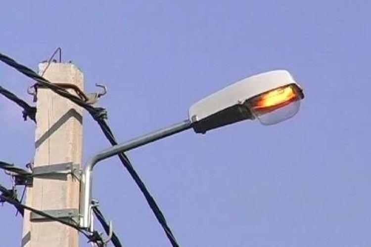 У Любешівській ОТГ на зекономлені кошти освітлять вулиці у кількох селах