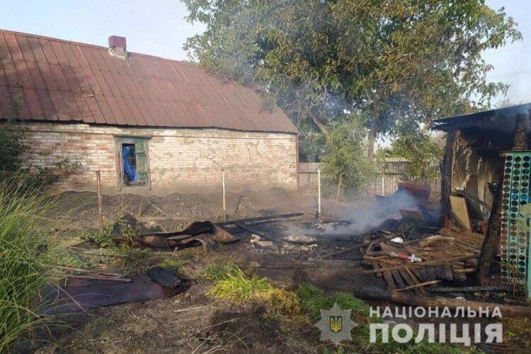 Не поділили чоловіка: на Харківщині 35-річна жінка підпалила хату ще й сарай 47-літній суперниці