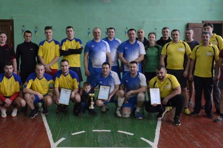 У Кубку Шацького нацпарку з волейболу взяла участь команда православного братства