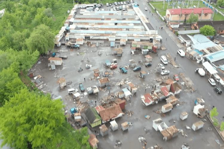 На місці Старого ринку буде парковка