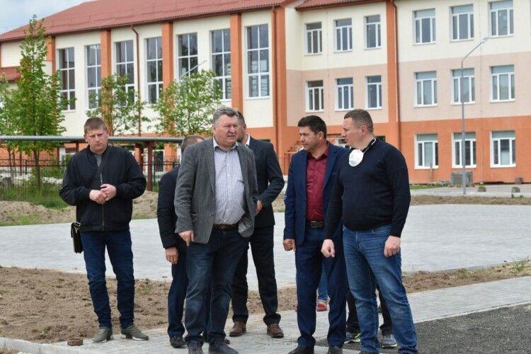 У школі села Вербка буде найбільший в області спортивний зал