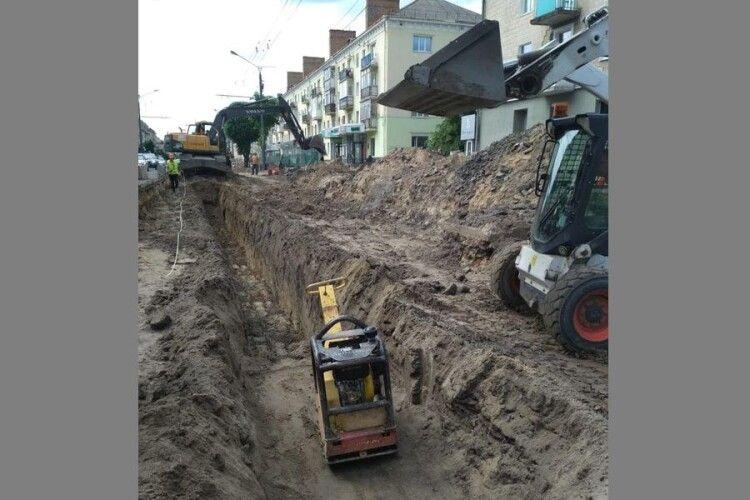 У Луцьку знайшли стару каналізацію