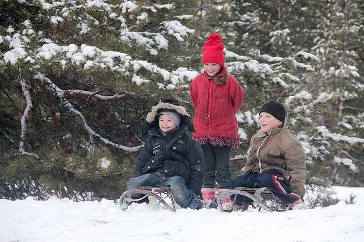 Снігових вам розваг, а не телефонних