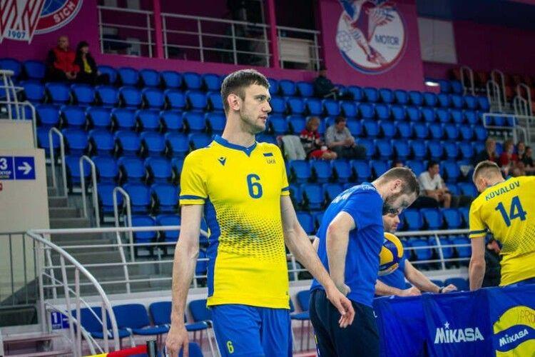 Волейболіст Максим Дрозд:  психологічна перевага апріорі є на нашому боці