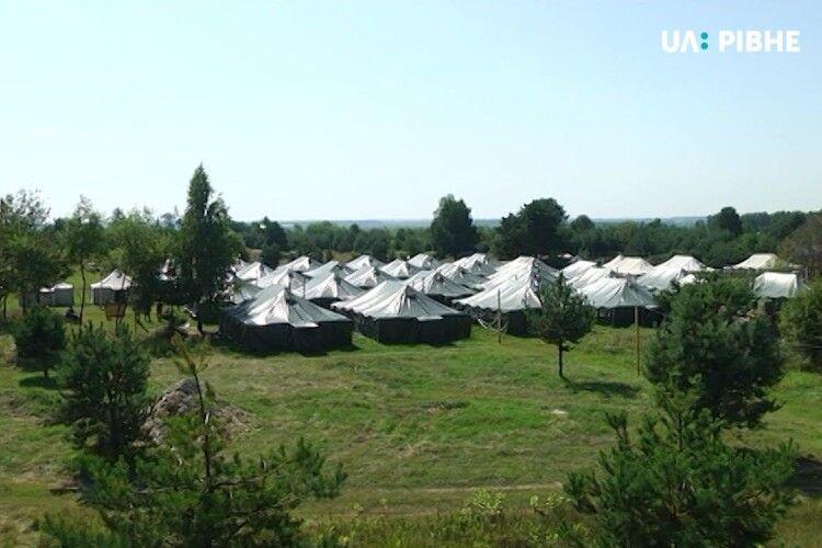 На Рівненському полігоні облаштовують умови для кількох тисяч резервістів