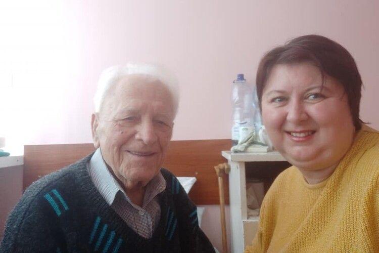 98-річний воїн УПА чекає на реабілітацію