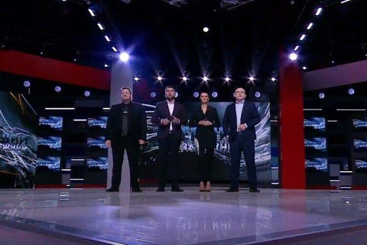 Новий телеканал Медвечука пробув в ефірі лише годину
