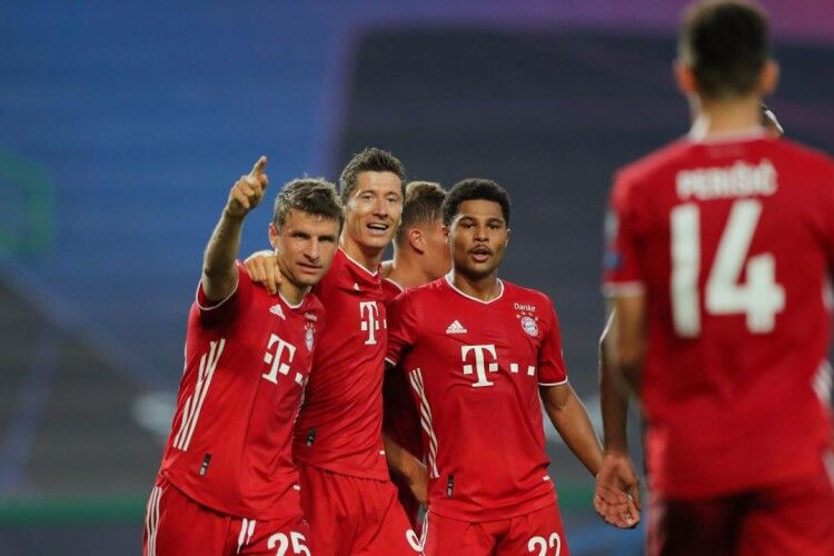Мюнхенська «Баварія» очолила клубний рейтинг УЄФА