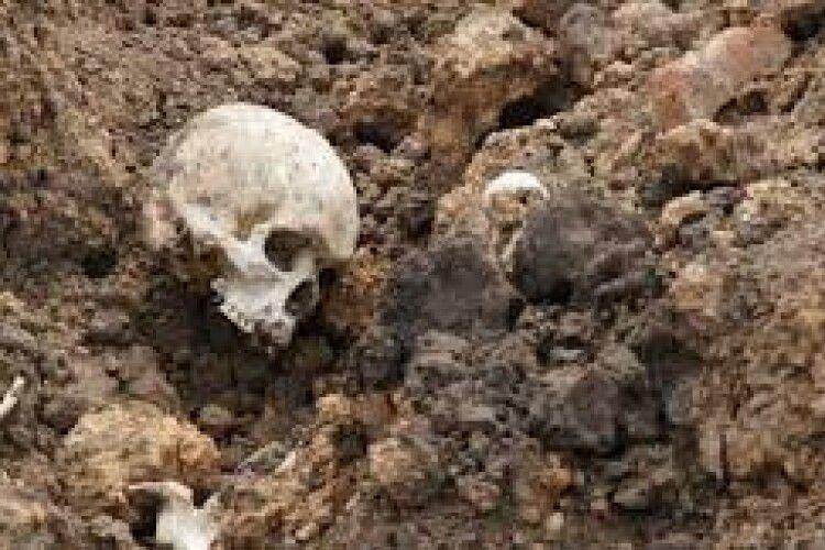 На Донеччині на території військового аеродрому виявлено людські рештки