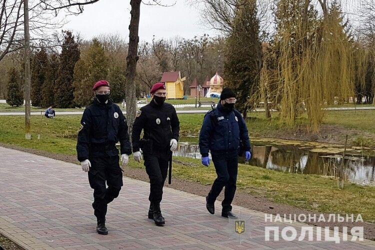 На Волині поліція покарала 50 порушників карантинних заходів