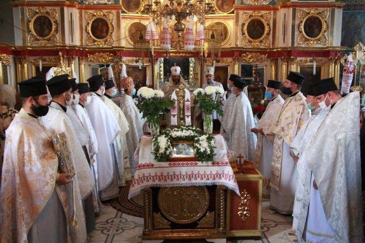 Митрополит Луцький і Волинський Михаїл празникував у Горохові (Фото)