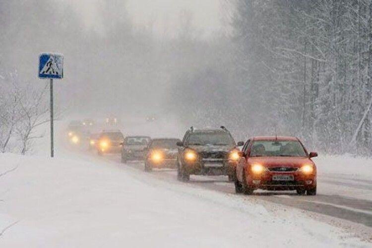 Які дороги на Волині закрито для руху транспорту (перелік)