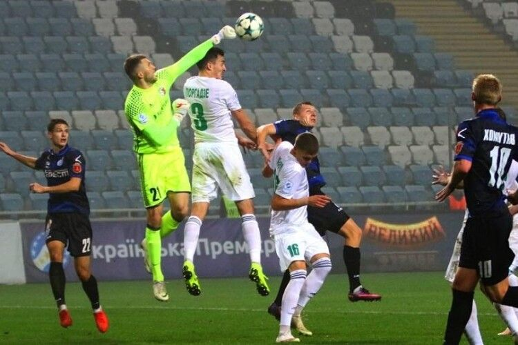 «Ворскла» на доданих хвилинах матчу вирвала вольову перемогу над «Чорноморцем»