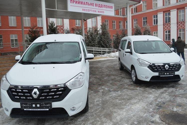 Автопарк Ковельського МТМО поповнився двома легковими автомобілями