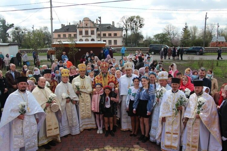 На Юрія митрополит Луцький і Волинський Михаїл правив у Сенкевичівці