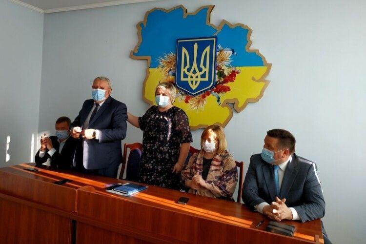 У Камені-Каширському представили нових заступників