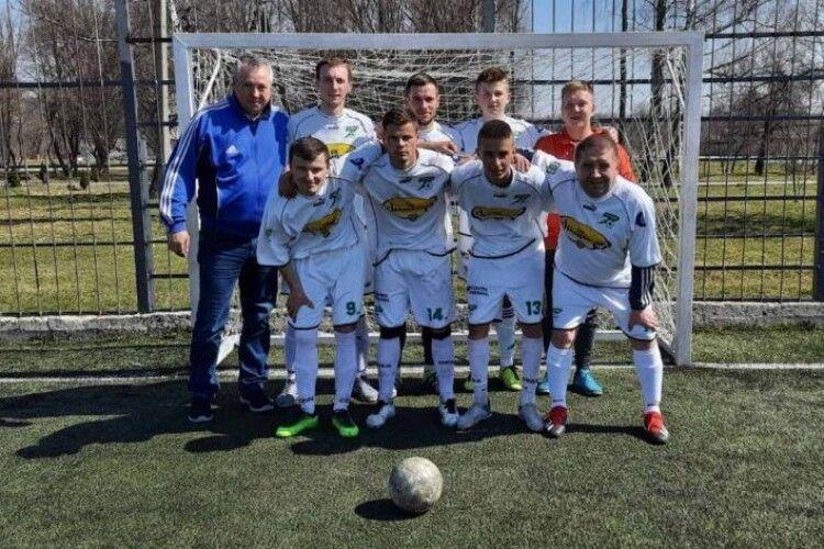 Маневичани стали чемпіонами з міні-футболу