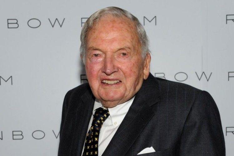 У віці 101 рік помер американський мільярдер Девід Рокфеллер