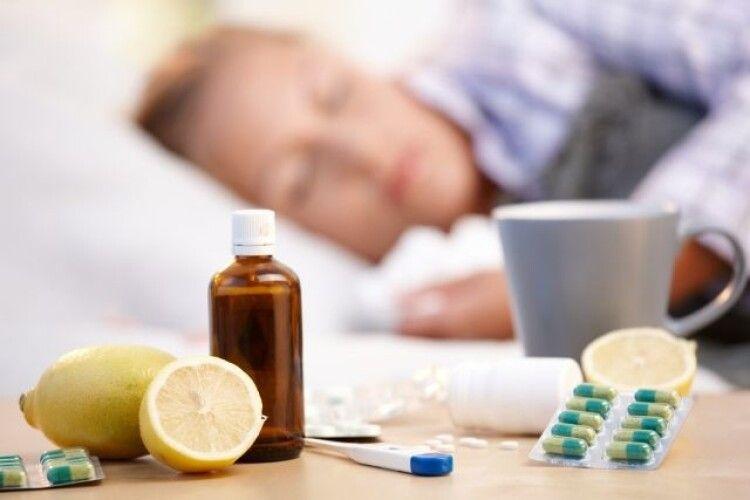 Де на Волині значно перевищений епідпоріг щодо грипу та ГРВІ
