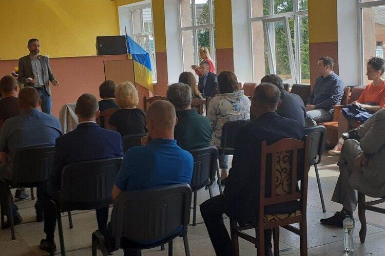 Американці у волинському селі «оздоровлюватимуть економіку України»