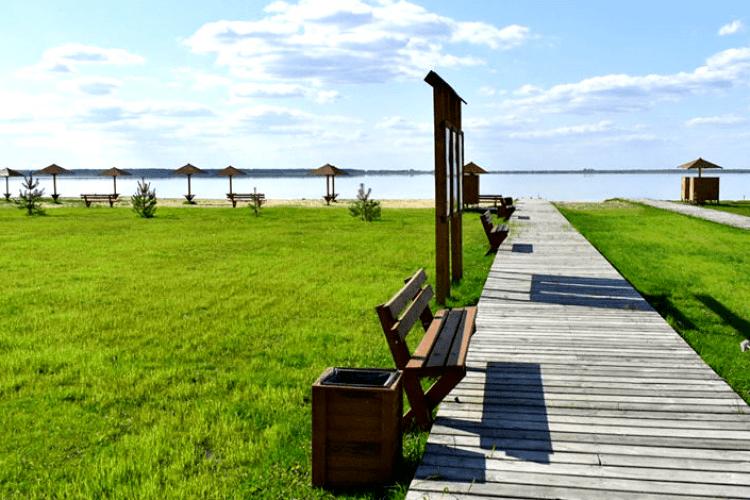 Рівень води в озері Світязь опустився найнижче за останні 35 років
