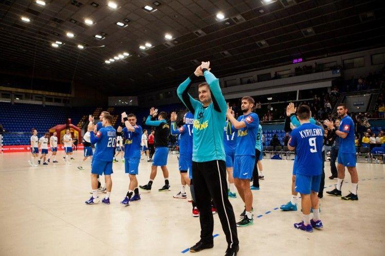 Українські гандболісти видряпали перемогу над Фарерськими островами у відборі на Євро-2020