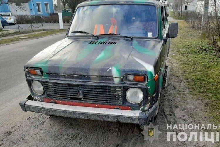 У Старовижівському районі поліція затримала викрадача автомобіля