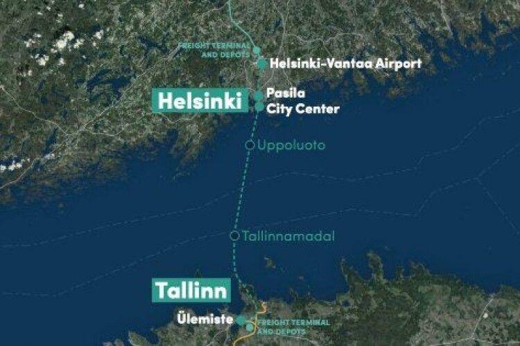 Найбільший у світі підводний тунель з'єднає береги Фінськоъ затоки